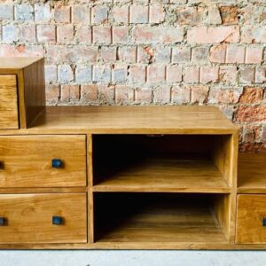 Solid Teak Unit