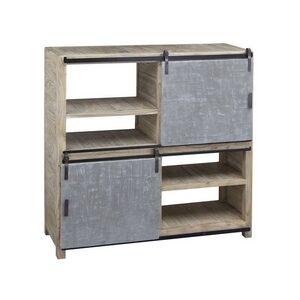 Shelf – 2 Concrete Doors with Wheels & 2 Cases