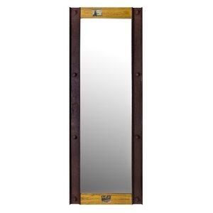 """Wood & """"U"""" Profile Mirror"""