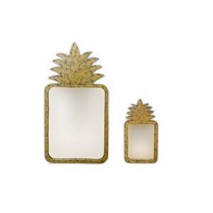 Pineapple Mirror Square