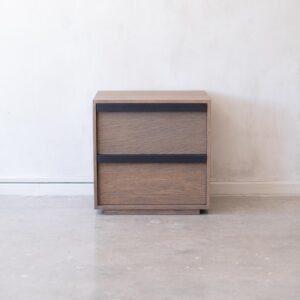 Modern Oak Bedside Table