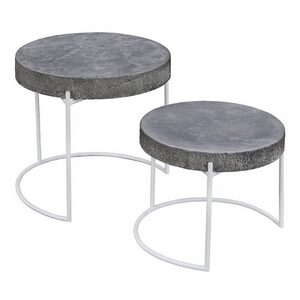 Set of 2 – Nestling Round Table