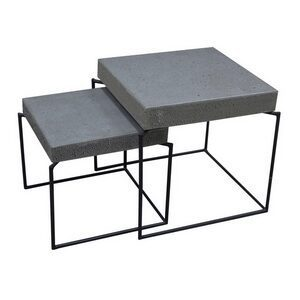 Set of 2 – Nestling Square Tables