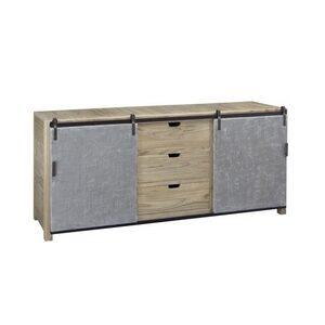Sideboard – 2 Concrete Doors & 3 Drawers