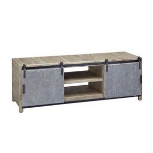 TV Unit – 2 Concrete Doors