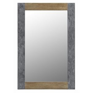 Wood & Concrete Mirror