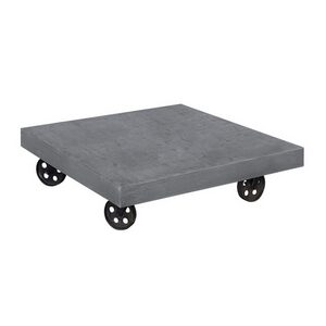 """Block"" Coffee Table Top with Wheels."