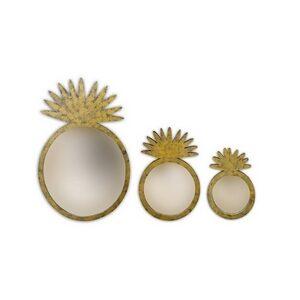 Pineapple Mirror Round