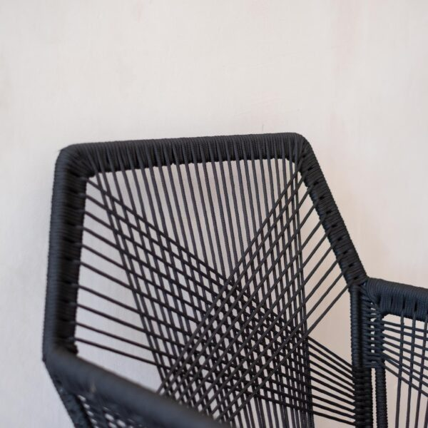 Hexagon Rope Dining Chair