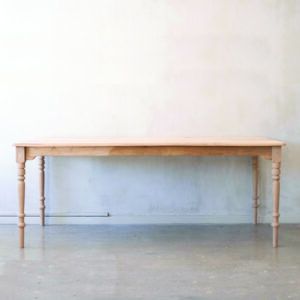 Solid Oak Classical Dining Table