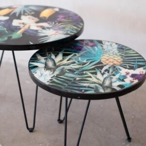 Tropical Sidetable